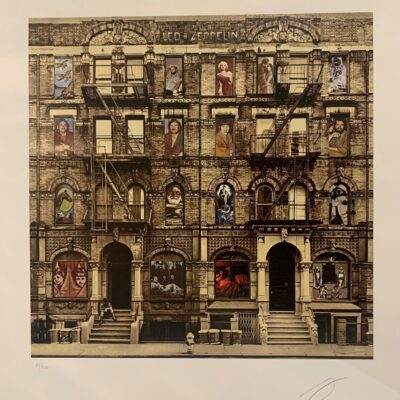 Led Zeppelin - Physical Graffiti Limited Edition Art Print by Peter Corriston