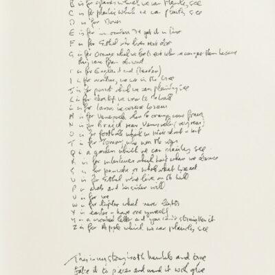 """John Lennon - Bag One Suite """"Poet's Page"""""""