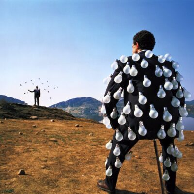 """Pink Floyd """"Delicate Sound Of Thunder"""" Limited Fine Art Print - Signed by Storm Thorgerson"""