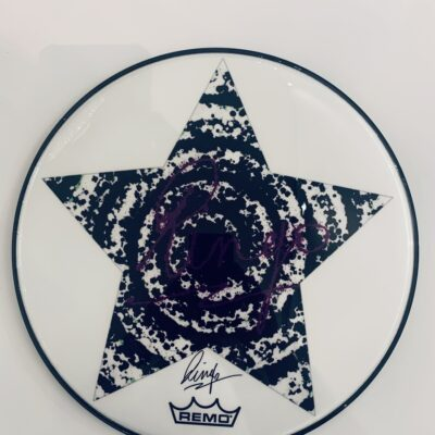 Peace 13 Drum Head - by Ringo Starr