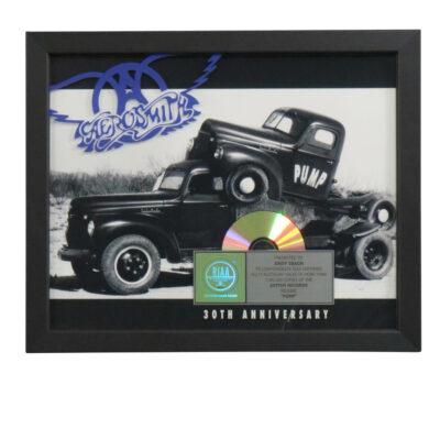 Pump RIAA Multi-Platinum Award
