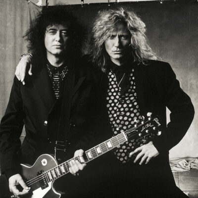 Jimmy Page & David Coverdale, Los Angeles 1976