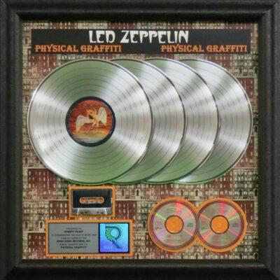 Physical Graffiti RIAA Multi-Platinum Award Presented to Robert Plant