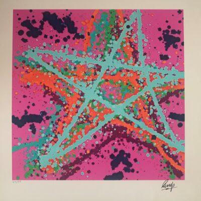 Starr Art - Limited Art Print by Ringo Starr