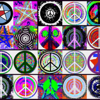 Peace Flag - Limited Art Print by Ringo Starr