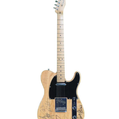 Fender Telecaster Guitar signed by Bruce Springsteen and the E Street Band
