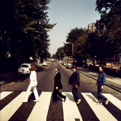 "The Beatles - The Abbey Road Set ""Frame 2"" by Iain Macmillan"