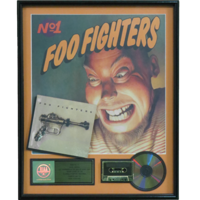 Foo Fighters Debut Album RIAA Gold Award Presented to Dave Grohl