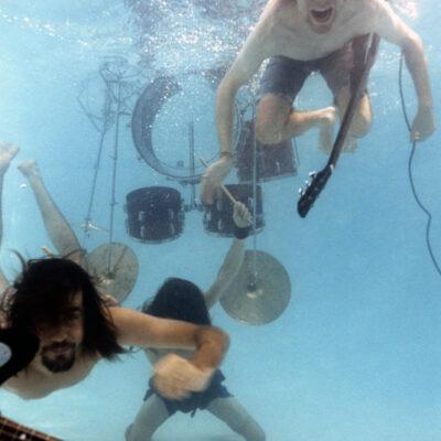 Nirvana Phot Shoot For Nevermind