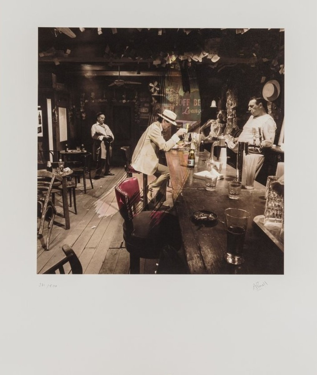 """Led Zeppelin """"In Through the Out Door"""" Limited Fine Art Print - Signed by Aubrey Powell"""