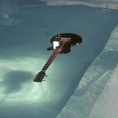 Kurt Cobain Nirvana Floating Guitar Photo